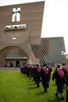 01 - Saint John's Abbey Church at Commencement by Adam Konczewski