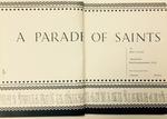 A Parade of Saints