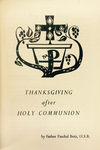 Thanksgiving after Holy Communion